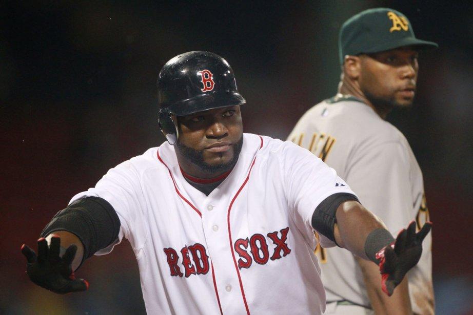 Ortiz a cogné deux doubles et a produit... (Photo: AP)