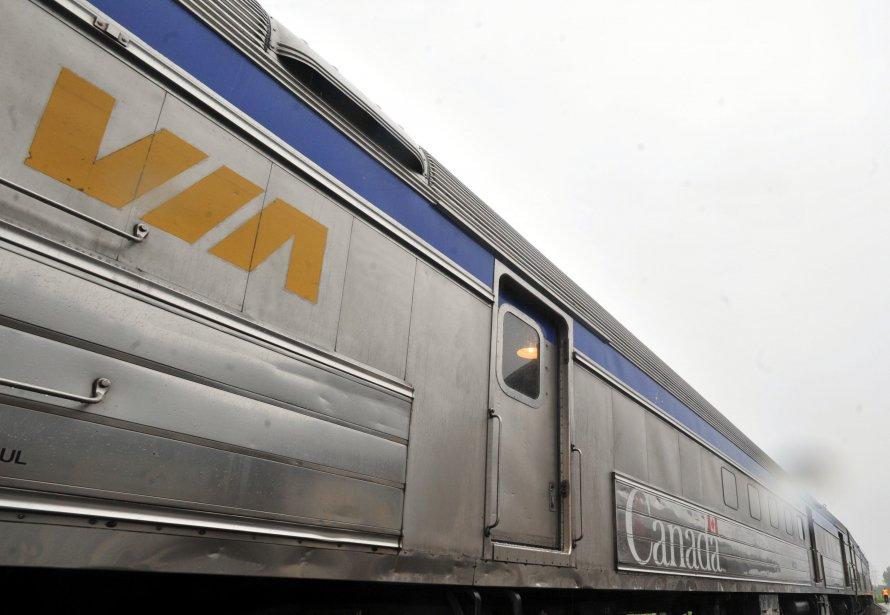 Train matap dia gasp le retour de via rail encore report genevi ve g lin - Wagon de train a vendre occasion ...