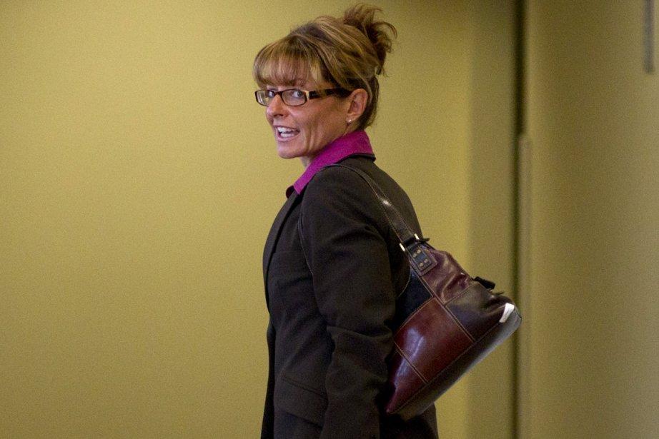 Tania Pontbriand, au palais de justice de Saint-Jérôme.... (Photo: Ivanoh Demers, La Presse)