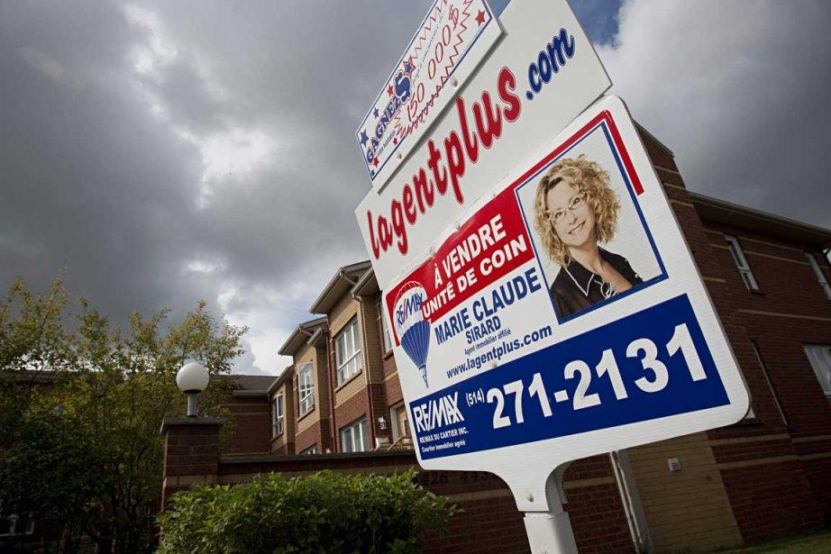 Le prix moyen des maisons continuera de s'apprécier... (Photo David Boily, archives La Presse)