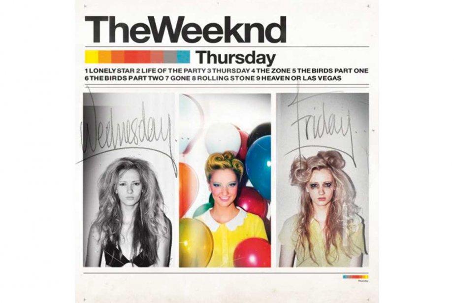 Pochette de l'album Thursday, de The Weeknd...