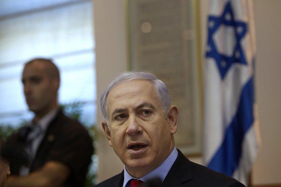Le premier ministre israélien, Benyamin Nétanyahou.... (Photo: AP)