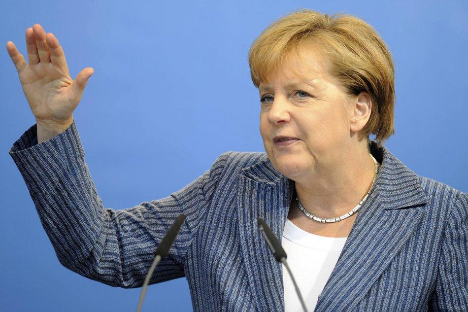 La chancelière allemande, Angela Merkel.... (Photo: Reuters)