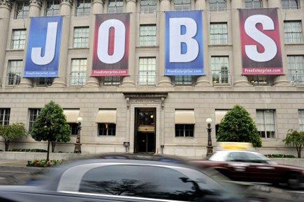 Selon l'enquête mensuelle sur l'emploi réalisée par la... (Photo: Reuters)