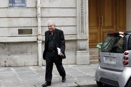 Dominique Strauss-Kahn est rentré à Paris dimanche dernier.... (Photo: AFP)