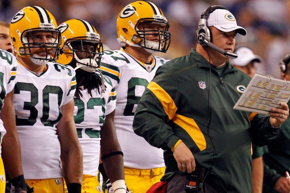 Les Packers sont donnés favoris cette année...... (Photo AP)