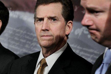 Le sénateur ultraconservateurJim DeMint n'assistera probablement pas au... (Photo: AP)