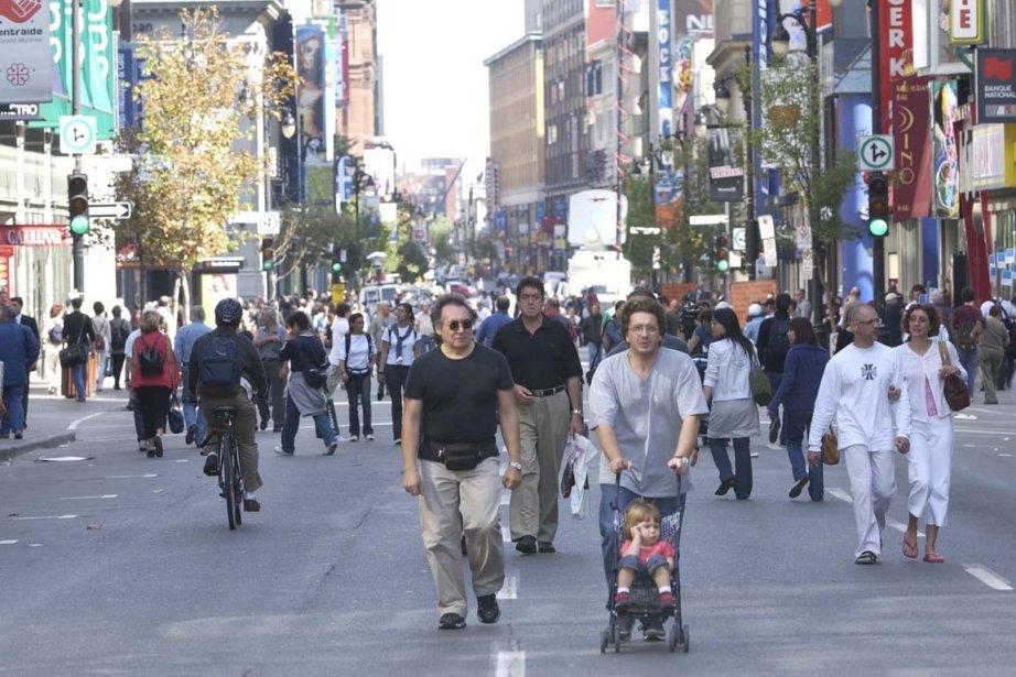 Depuis 1990, la population québécoise a vieilli. L'âge... (Photo: Martin Chamberland, Archives La Presse)
