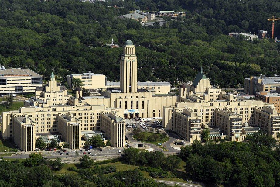 L'Université de Montréal.... (Photo: Bernard Brault, archives La Presse)