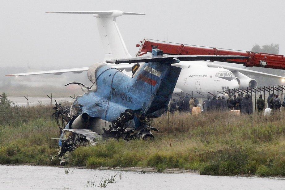Le Yak-42, un avion nolisé de 18 ans,... (Photo: Reuters)