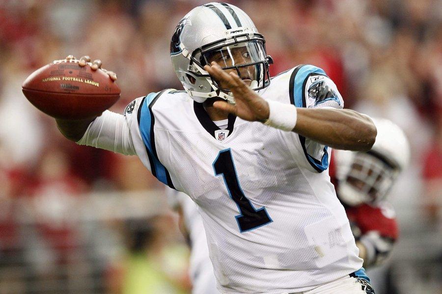 Cam Newton... (Photo: AP)