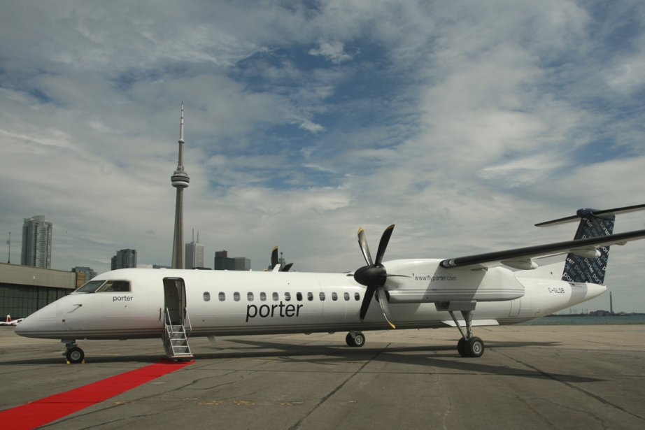 Bombardier assemble le Q400 à son usine de... (Photo fournie par Porter Airlines)