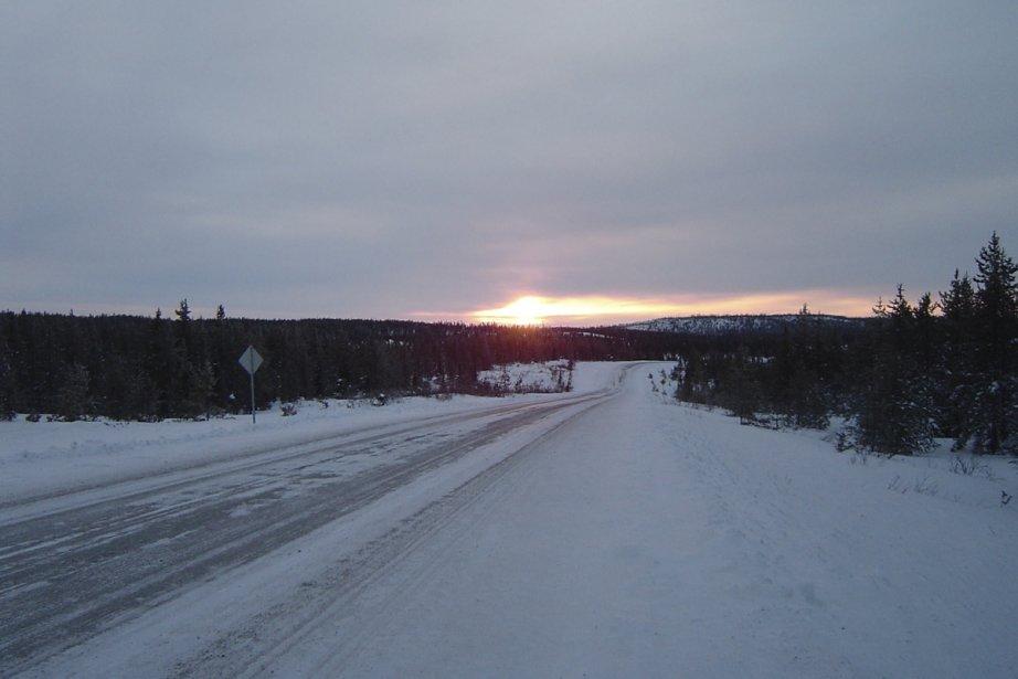 Le tronçon de 60 km, dont la construction... (Photo fournie par Tourisme Baie-James)