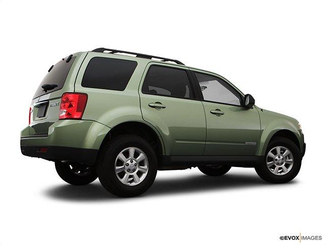 Mazda - Tribute 2008 - Traction avant, V6, boîte automatique, GS - Plan latéral arrière (Evox)