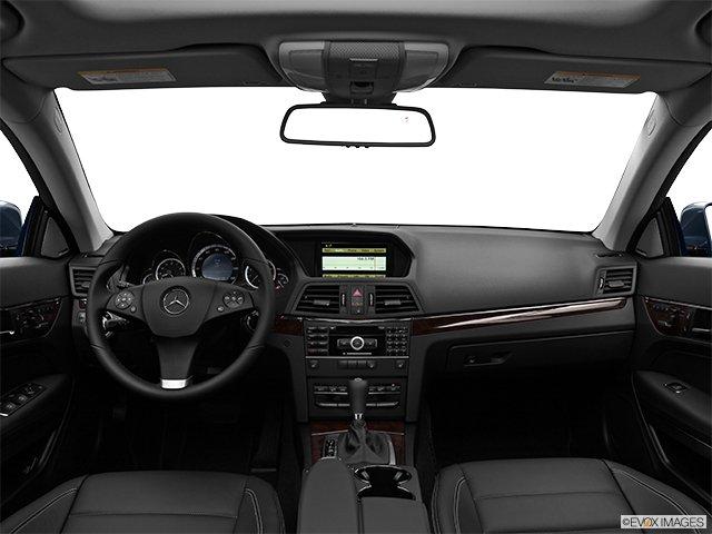 Mercedes-Benz - Classe-E 2011: Le soleil brille pour tout le monde - Coupé 2 portes 3,5 L à traction arrière - Tableau de bord (Evox)