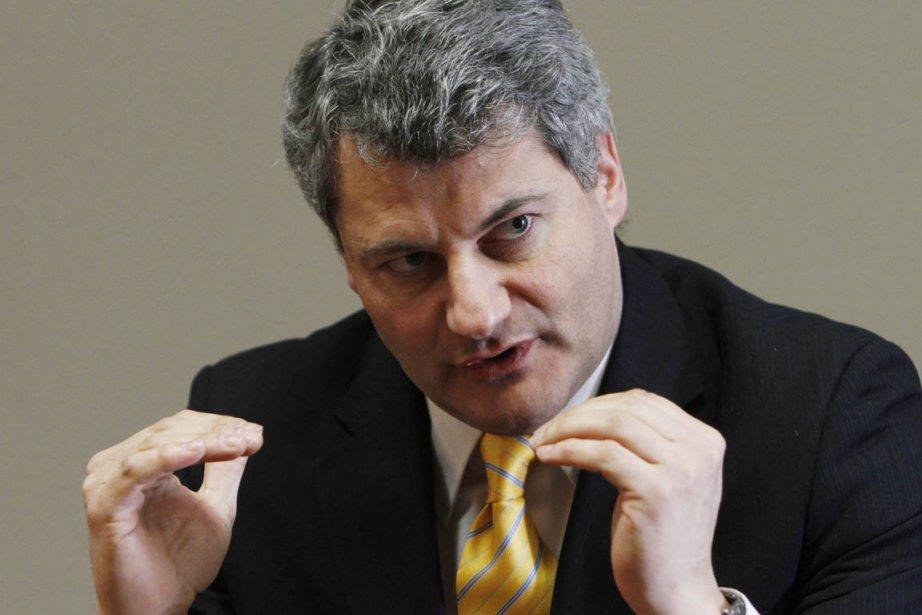Le chef de l'ADQ, Gérard Deltell, insiste pour... (Photo: Simon Séguin-Bertrand, archives Le Droit)