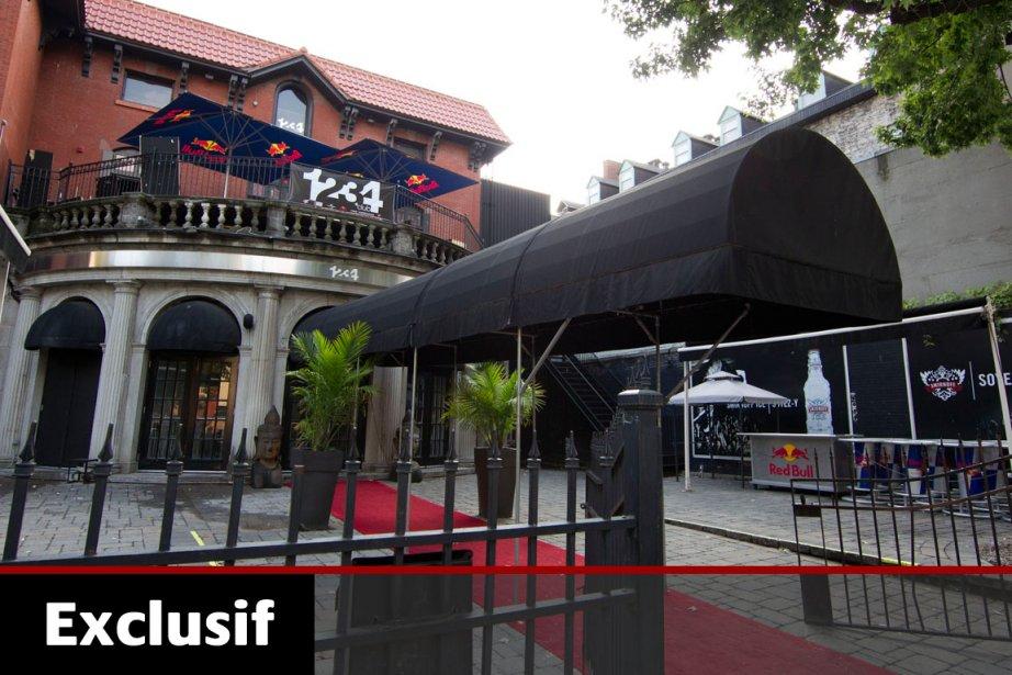 Le Club 1234, propriété des hommes d'affaires Giovanni... (Photo: Robert Skinner, La Presse)