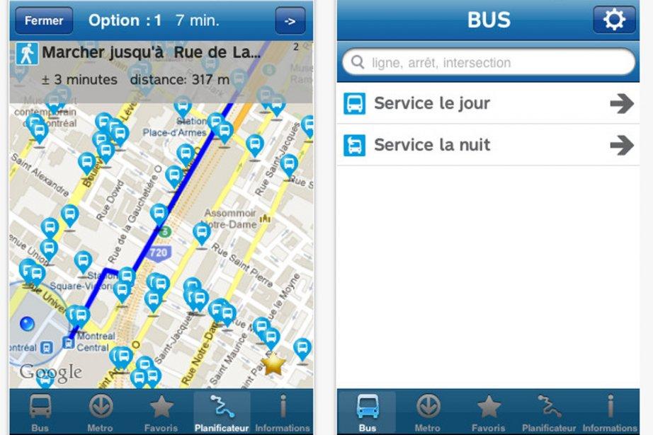 Un aperçu de l'interface de la nouvelle appllication... (Photo: itunes/apple.com)