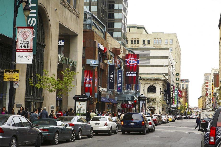 La rue Sainte-Catherine est une destination de choix... (Photo fournie par Tourisme Montréal)