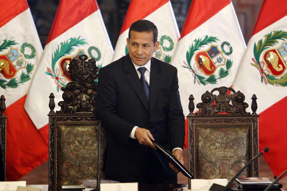 Le président péruvien Ollanta Humala.... (Photo: Reuters)
