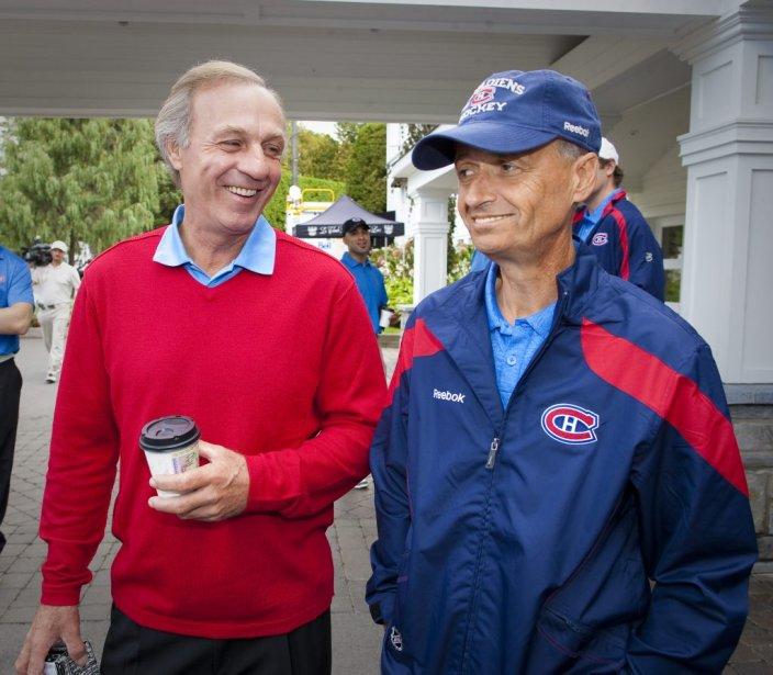 Guy Lafleur et Pierre Gauthier | 14 septembre 2011