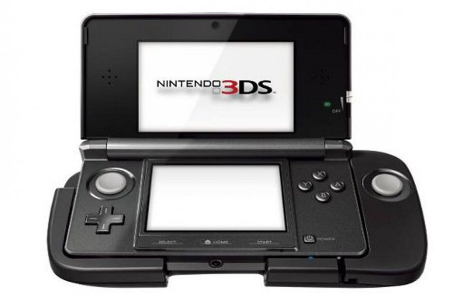 Le Nintendo 3DS équipé du Circle Pad Expansion.... (Photo: Nintendo)