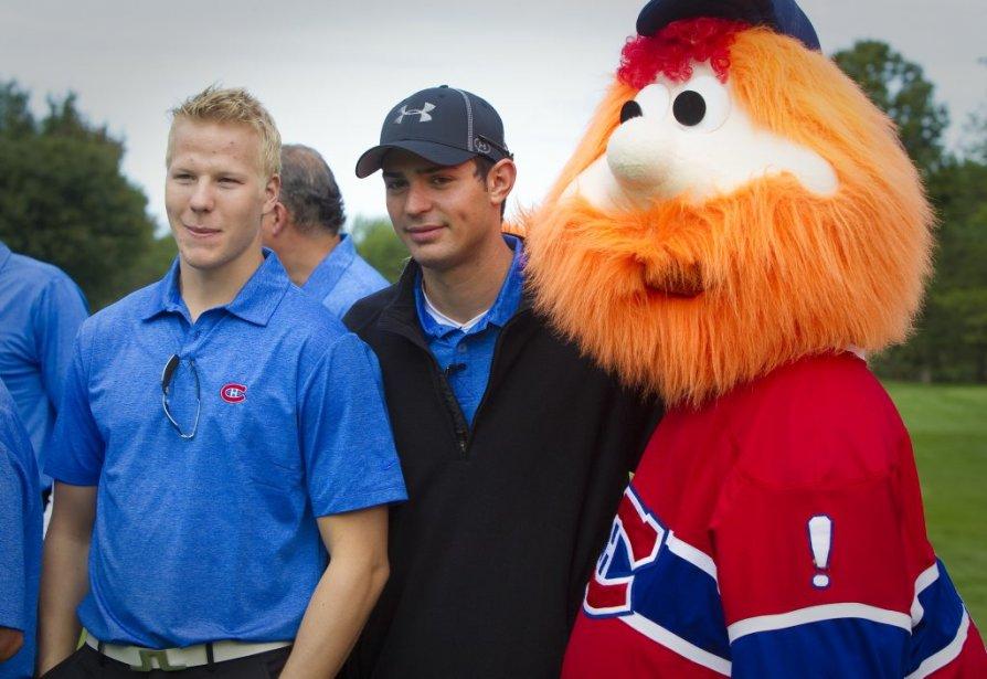 Lars Eller, Carey Price et Youppi | 14 septembre 2011