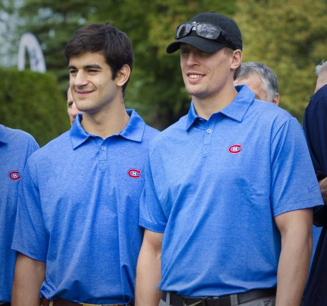 Max Pacioretty et Travis Moen | 14 septembre 2011