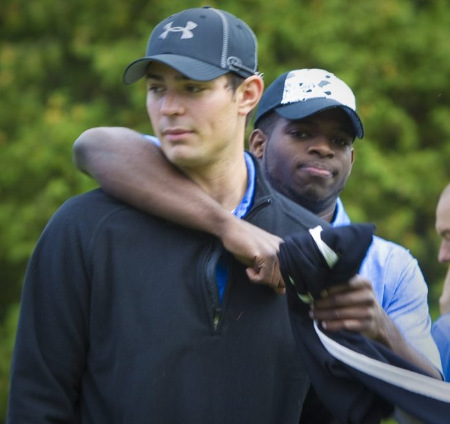 Carey Price et P.K. Subban | 14 septembre 2011