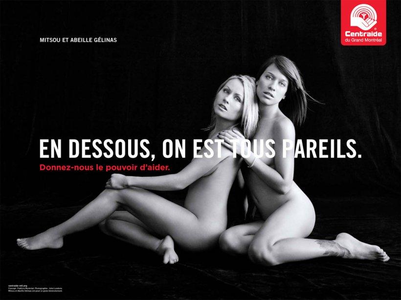 Mitsou et Abeille Gélinas (Fournie par Centraide)