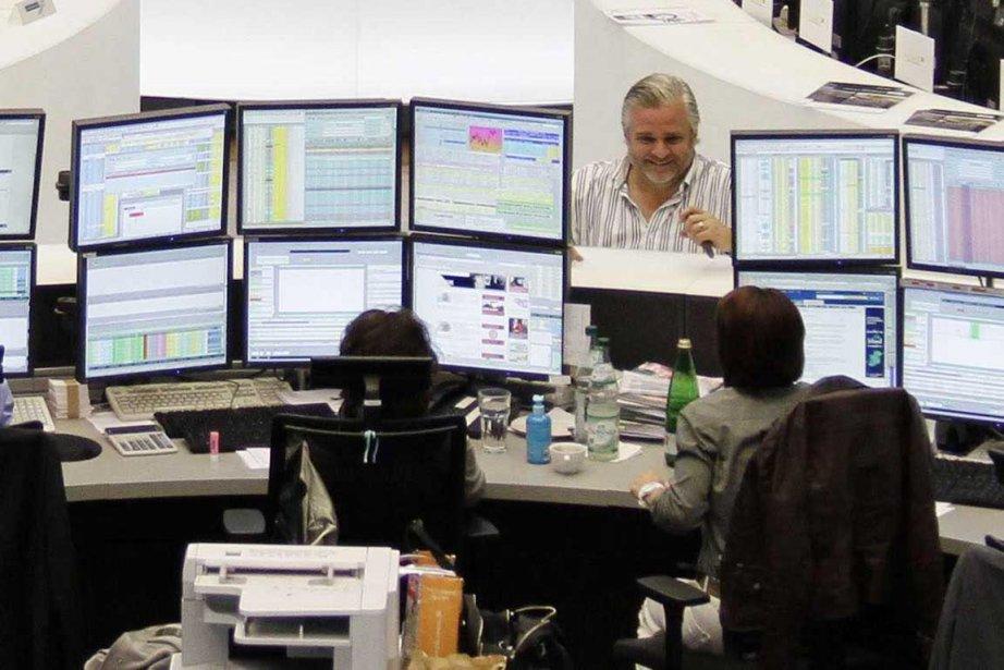 Peu avant midi (6h00 à Montréal), la Bourse... (Photo Reuters)