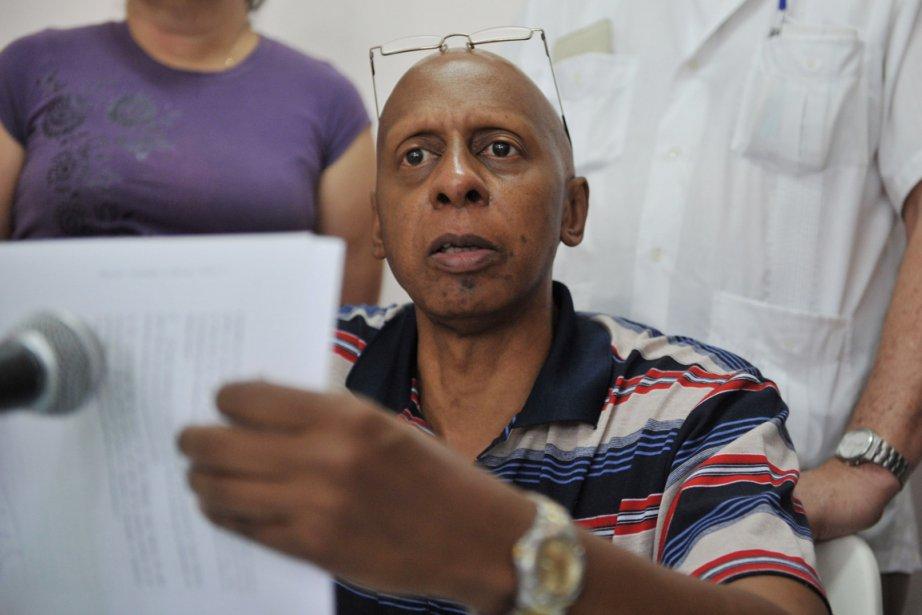 Au nombre des militants arrêtés figurait Guillermo ... (Photo: Adalberto Roque, AFP)