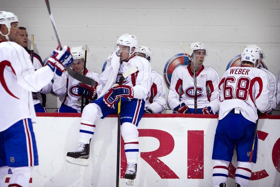 Entraînement public des Canadiens de Montréal au Complexe... (Photo: Marco Campanozzi, La Presse)