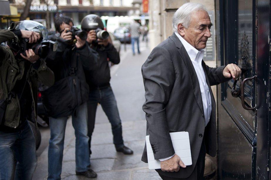 Dominique Strauss-Kahn, photographié à Paris, le 6 septembre... (Photo: AFP)
