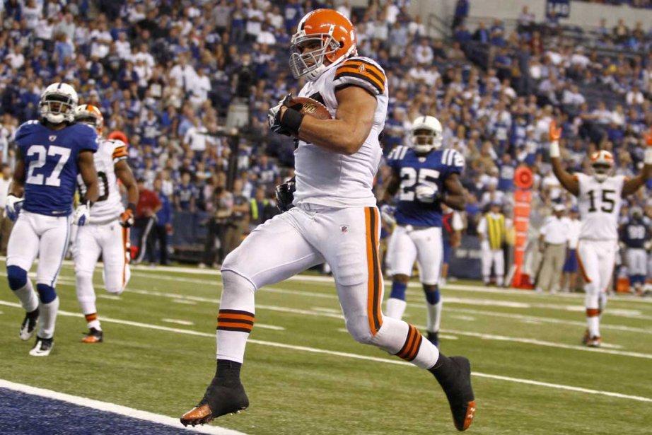 Peyton Hillis a connu une deuxième saison complètement... (Photo Associated Press)
