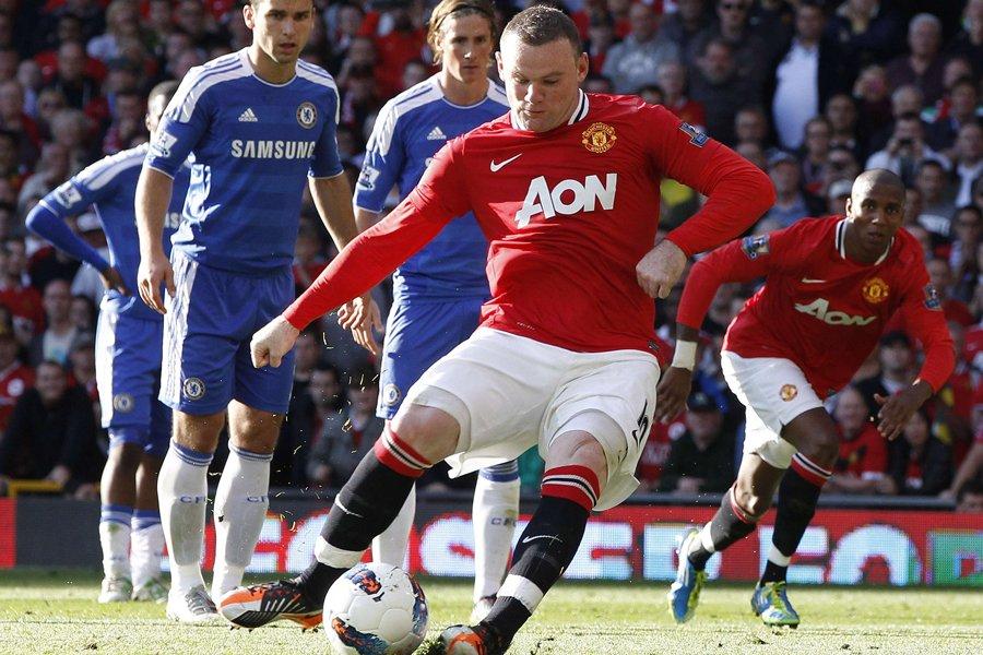 Wayne Rooney a marqué neuf buts en cinq... (Photo: Reuters)