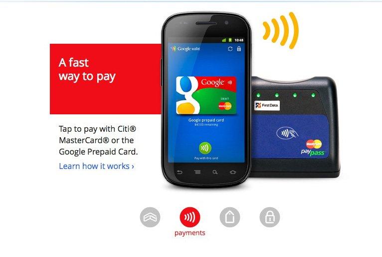 Image tirée du site internet de Google Wallet....
