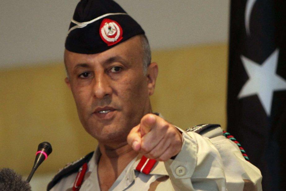 Ahmed Bani, un porte-parole militaire du gouvernement de...