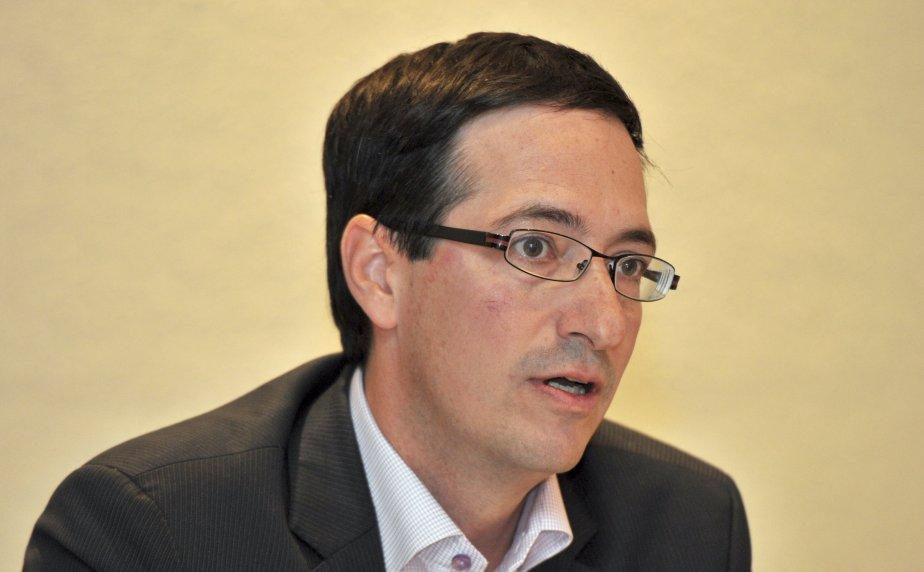 Le leader parlementaire du Parti québécois,Stéphane Bédard.... (Photo: Jeannot Lévesque, Archives Le Quotidien)