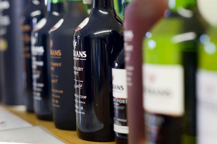 Des bouteilles de porto... (Photo: AFP)