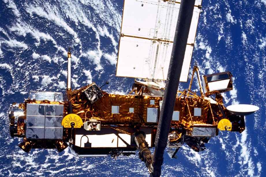 Le Upper Atmosphere Research Satellite de la NASA... (Photo: Reuters)