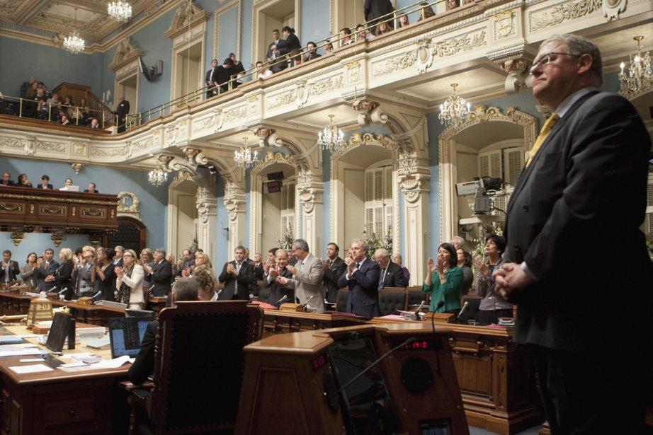 Le président de l'Assemblée nationale, Jacques Chagnon, a... (Photo: Jacques Boissinot, PC)