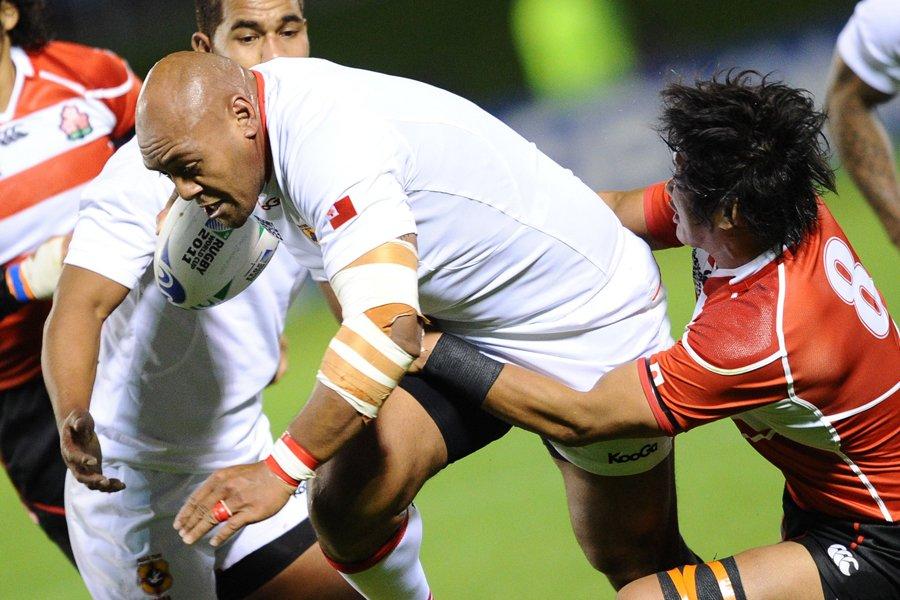 Les Iles Tonga ont défait le Japon 31-18,... (Photo: AFP)