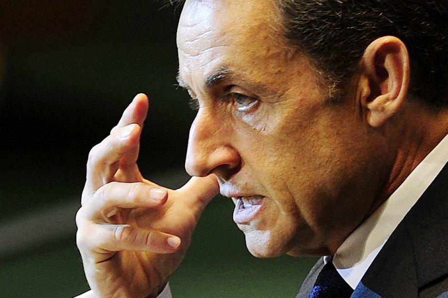 Le président français Nicolas Sarkozy.... (Photo: Emmanuel Dunand, AFP)