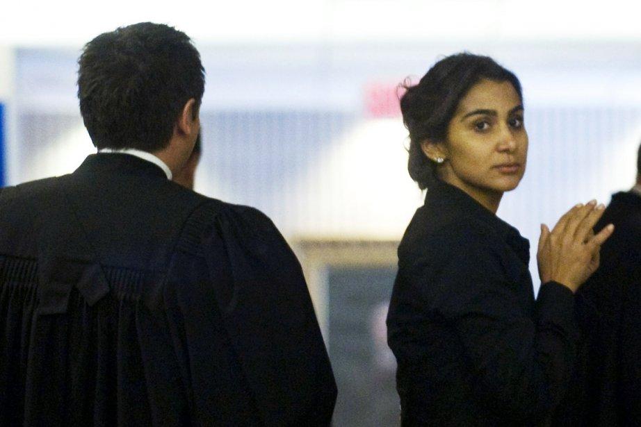 Amanda Rodrigues au palais de justice de Montréal.... (Photo: Graham Hughes, Archives PC)
