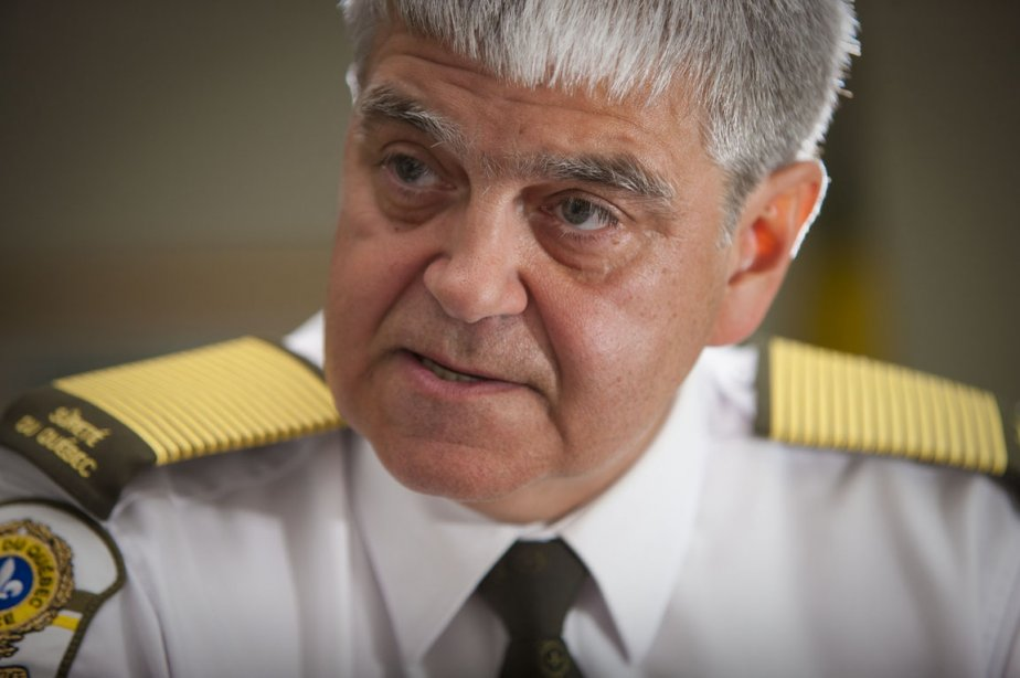 Le directeur de la SQ, Richard Deschesne.... (Photo: André Pichette, La Presse)