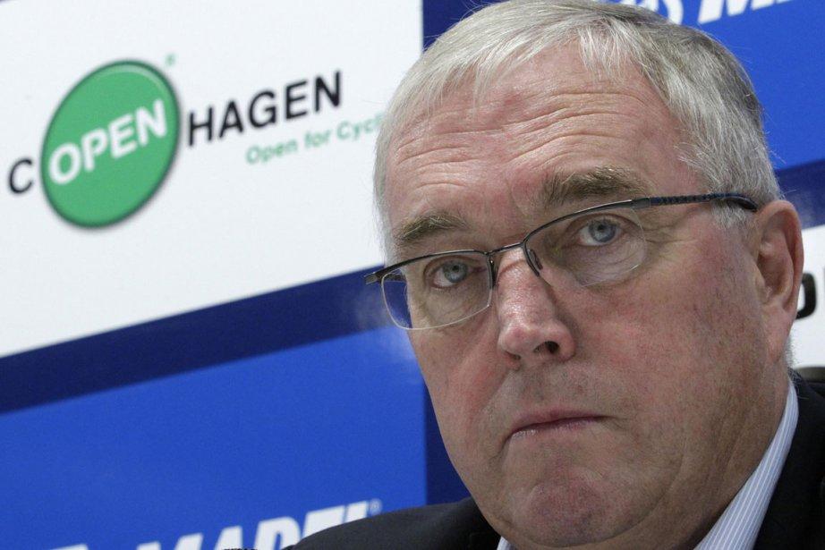 Le président de l'Union cycliste internationale, Pat McQuaid.... (Photo: Reuters)