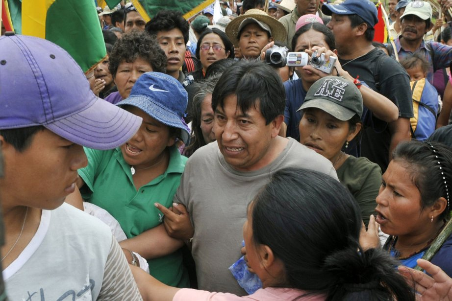 Le ministre des Affaires étrangères de la Bolivie... (Photo: AFP)