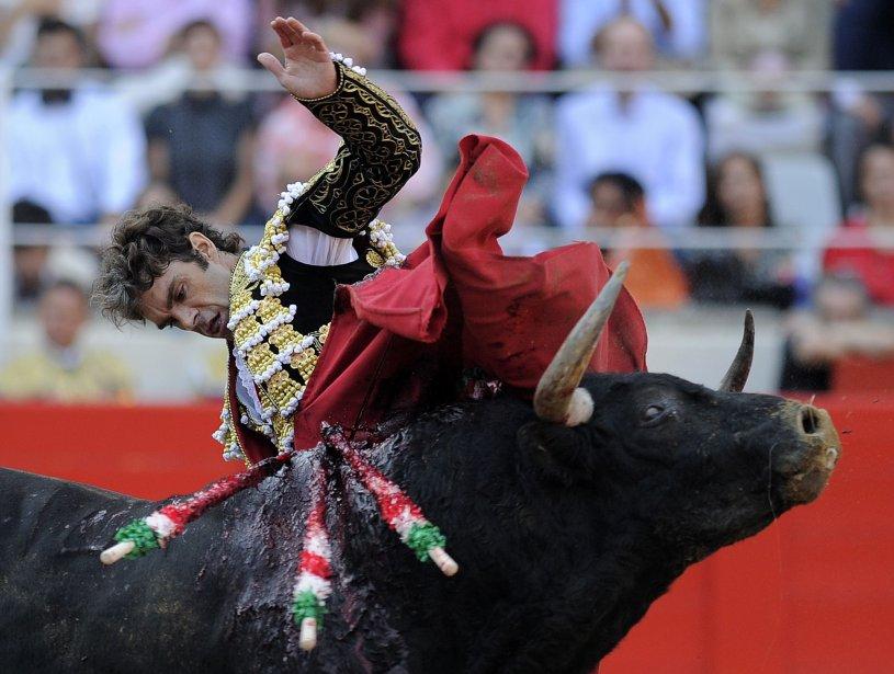 Les derniers taureaux ont été lâchés, le 25... (AFP)