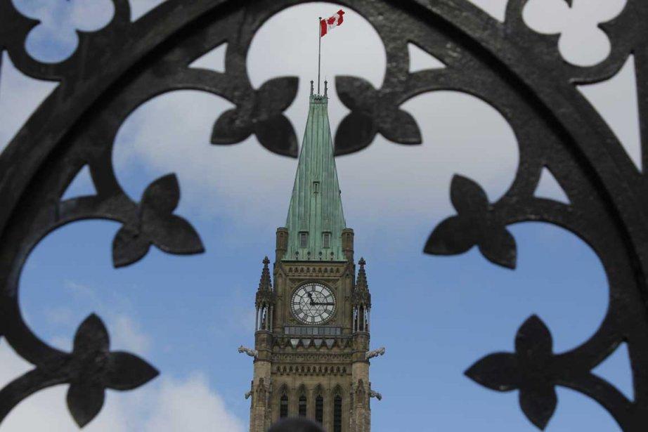 Le parlement canadien, à Ottawa.... (Photo Étienne Ranger, Le Droit)